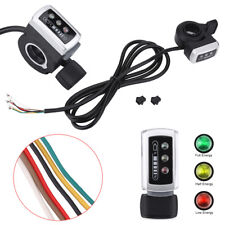 Universal Thumb Throttle Speed Control Handle Electric Bike Scooter 6 Wires BT