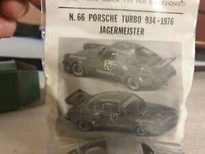 F.D.S MODELS - 1976 PORSCHE 934 - JAGERMEISTER - 1/43 SCALE WHITE METAL MODEL