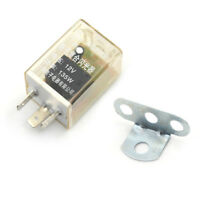 12V 3-Pin LED Flasher Relay Car Auto Turn Signal Indicator Blinker Flasher nZ0HW