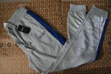 NEW HUGO BOSS MENS GREY TRACKSUIT PANTS TROUSER SWEATPANT BOTTOMS JOGGERS SMALL