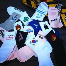 2017 New Japan Harajuku Summer Cotton Socks Women Fashion Cartoon Funny Socks B
