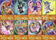 Dark Magician Girl Anime Custom Cards - Common Handmade Yugioh - Orica Cosplay