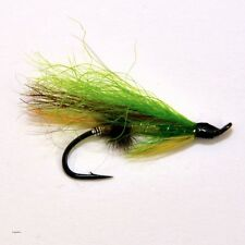 20 Salmon Fly Fishing Flies single hook by Dragonflies 10 patterns 2 szs