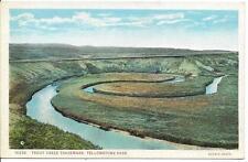 Postcard - Trout Creek - Yellowstone. Unposted. J E Haynes