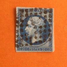 France n°130 1903 vert gris 15c semeuse lignée bloc de 4