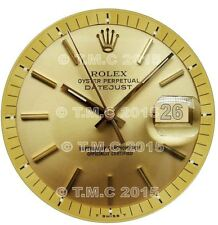 Designer Watch Face Gold Edible Icing Cake Topper- Round 7.5 inch PreCut