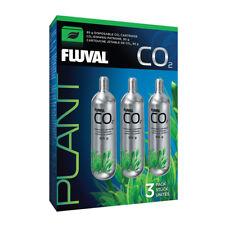 3-Pack Fluval Pressurized 95g CO2 Disposable Replacement Cartridges Aquarium 559