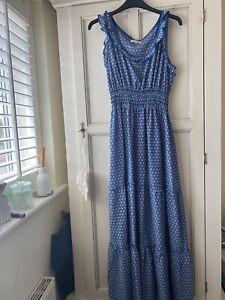 Max Studio Blue Daisy Dress Size Medium