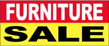 Furniture Sale - Vinyl Banner Sign 3X10 ft - ryb