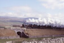 B377S 35mm Slide LMS Stanier Class 5 No.4767 & No.5407 @ Unkown (MG) (2)