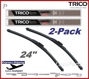 "TRICO Beam 24"" (2pack) Front Wiper Blade SET For 10-14 Mercedes C300 2048201945"