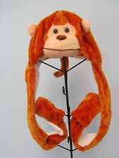 NEW Kids MONKEY Winter Hat with Paws
