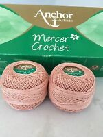 COATS ANCHOR ARTISTE SIZE 20 - CROCHET AND TATTING THREADS - LOTS OF COLOURS