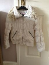 Girls White Jacket aged 7-8 years from Marks & Spencer