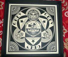 Shepard Fairey Dance Floor Riot Supreme Signed Art Print RARE OBEY Art Print