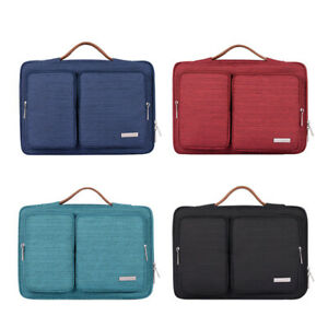 Notebook Carrying Case Laptop Sleeve Handbag Tote Briefcase for Macbook 13 Dell