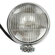 "5.5"" Chrome Motorcycle Headlight For Harley Cruiser Chopper Cafe Racer Bobber"