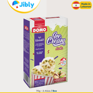 🇱🇧 Lebanese Domo Ice Cream Kashta Flavor | 70g- 2.46oz Box | Summer Snack