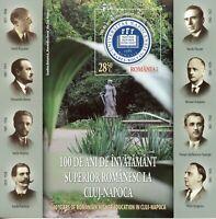 Romania Universities Stamps 2019 MNH Higher Education Cluj-Napoca 1v IMPF M/S