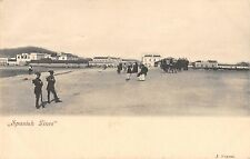 Police along the Spainsh Lines of Spain Border Antique Postcard L3523