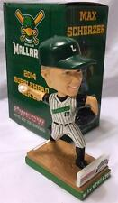 2014 MADISON MALLARDS MAX SCHERZER in LOGGERS UNIFORM SGA BOBBLEHEAD ~ NATIONALS