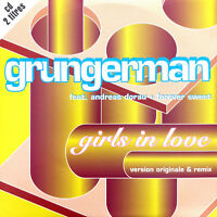 Grungerman Feat. Andreas Dorau + Forever Sweet ‎CD Single Girls In Love - France