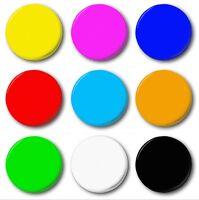 """PLAIN (VARIOUS COLOURS) - 1"""" / 25mm Button Badge - Merit House Points Lapel Pin"""