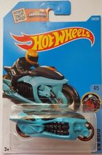 2016 Hot Wheels Hw Moto 4/5 Fly-By 134/250 (Teal)(Int. Card)