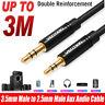 Vention AUX Kabel 3.5mm auf 2.5mm Klinkenstecker Audiokabel Stereo Audio Box