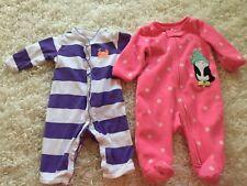0 - 3 Month Baby Girl Bodysuit Lot