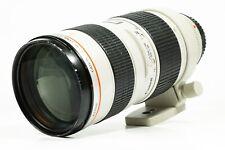 Canon EF 70-200mm lente Zoom EF USM F/2.8 L