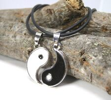 Collana Divisibile Yin & Yang Fidanzati Coppia Best Friends Idea Regalo Glamour