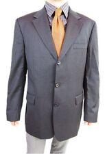 Mens HUGO BOSS Super 100 Wool Vtg Tailored Tweed Suit Jacket Blazer EU 56 AS1