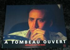 Bringing Out The Dead Lobby Cards - Nicolas Cage, Martin Scorsese
