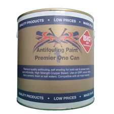 Premier 1 Can Antifouling 2.5 ltr - Steel White NOW WITH UP TO 45% Copper