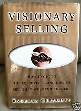 VISIONARY SELLING - How to Sell to Top Executives - Hardcover Book Sales HCDJ