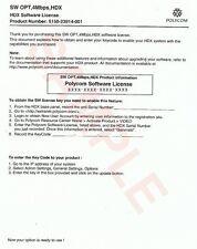 Polycom HDX 4Mbps Software License 5150-23914-001