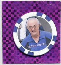 PETER GOTTI GANGSTER COLLECTOR CHIP