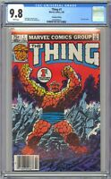 THE THING #1 - CGC 9.8 - .75 CANADIAN NEWSSTAND VARIANT - WP NM/MT