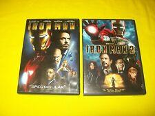 IRONMAN & IRONMAN 2 DVD ROBERT DOWNEY JR