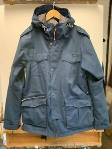 Holden Men's Snowboarding Jacket Blue Waterproof Size Large