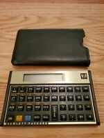 Hewlett Packard HP 12C Vintage Financial Business Calculator & Case