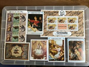 Grenada  Stamps unchecked Mint Mini-sheets collection (Bb513)