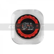 COIL MASTER A1 RIBBON WIRE 0.1mm * 0.4mm 30FT WIRE FOR BUILDING, UK SELLER