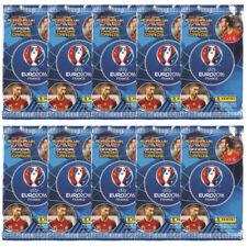 2016 PANINI ADRENALYN XL UEFA EURO 2016 tarjetas 10 paquetes de 9 tarjetas por (90 en total)