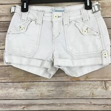 Aeropostale Juniors Shorts 100% Cotton Pockets Belt Loops Casual Size 1 2 A4