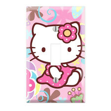Hello Kitty Decorative Single Toggle Light Switch Wall Plate Cover HK06