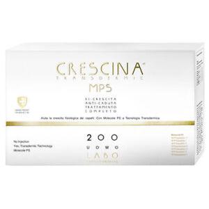 LABO Crescina Transdermic Mps Regrowth + Anti-hair Loss 200 Hair Man 10+ 10