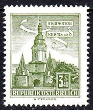 1050 postfrisch Österreich Jahrgang 1958 Steinertor Krems Bauwerk Architektur
