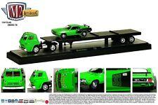 1:64 M2 Machines AUTO-HAULERS R16 = 1969 Dodge L600 Semi w/1971 Cuda 383 *NIB*